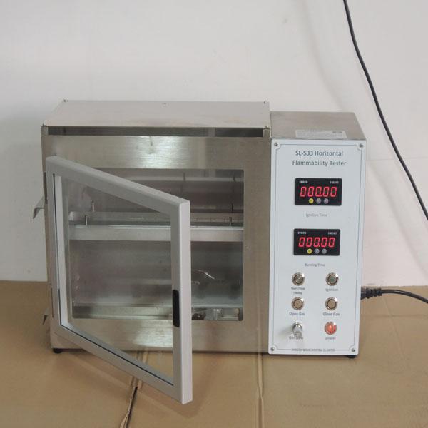Horizontal-Flammability-Tester01